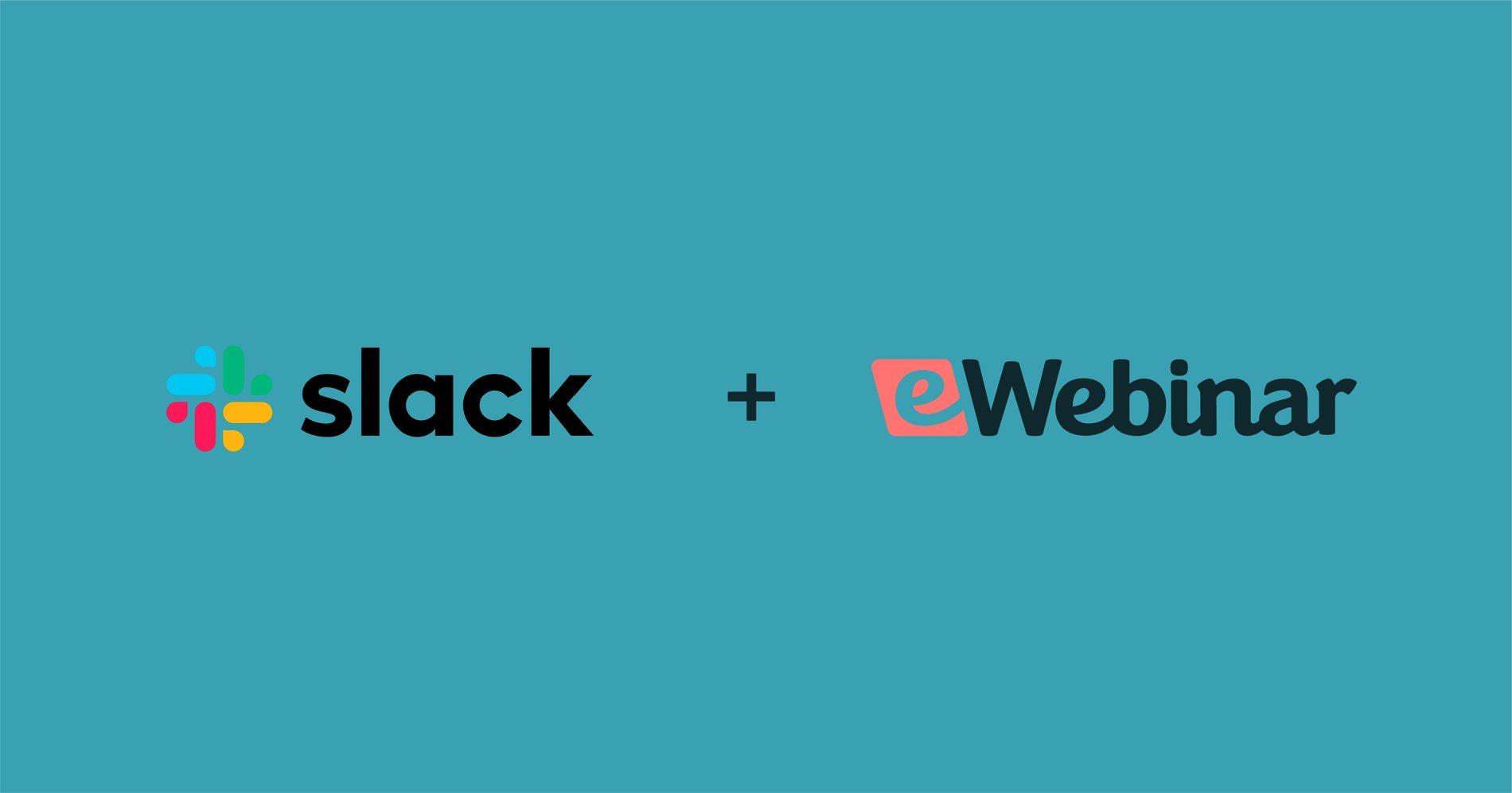 eWebinar Integrates with Slack