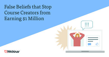 False beliefs that stop creators from getting to $1m in sales and what to do instead