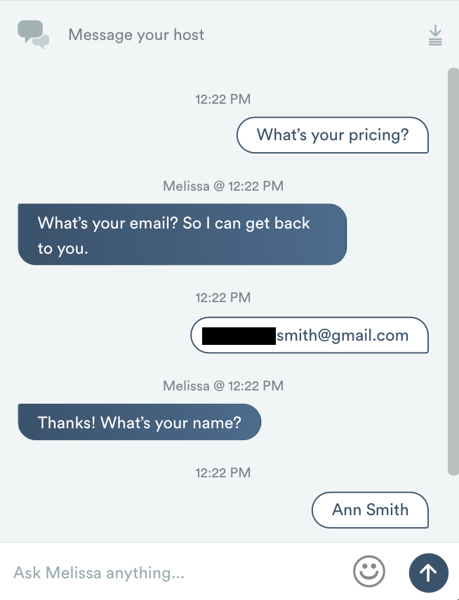 Automated chat responses in an ungated replay