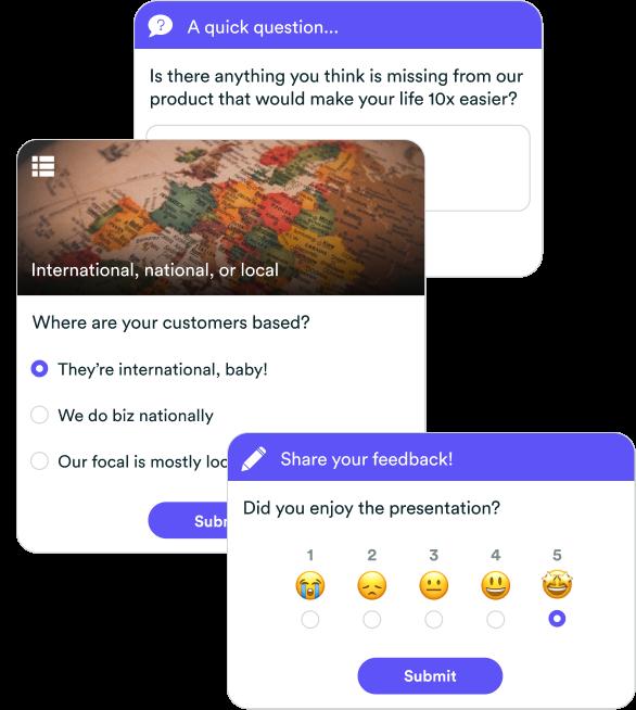 eWebinar Interactions