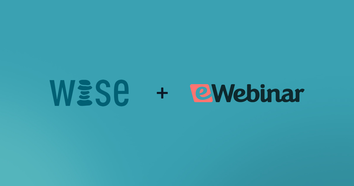 eWebinar announces partnership with WISE Accelerator