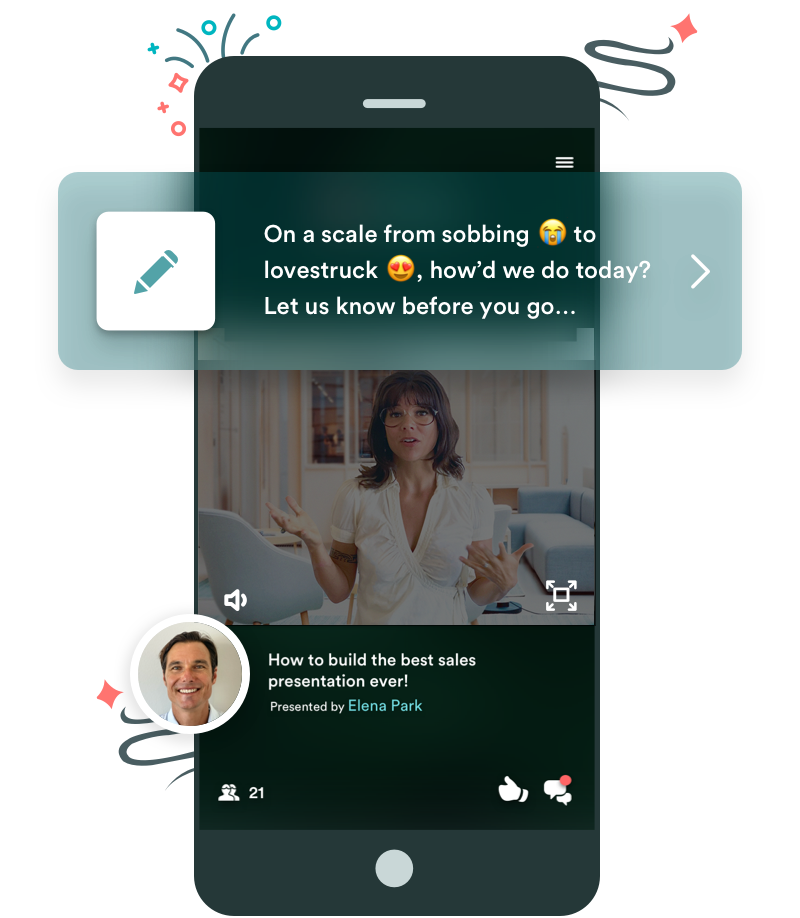 ewebinar on mobile